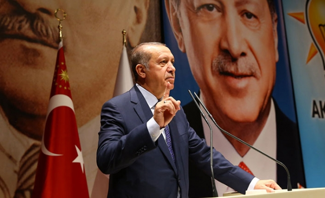 Erdoğan, AK Parti İl Başkanları Toplantısı'nda