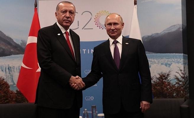 Erdoğan görüşmesi sonrası Putin'den açıklamalar