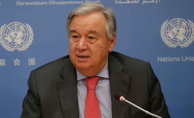 Guterres: Dünyamız stres testinden geçiyor