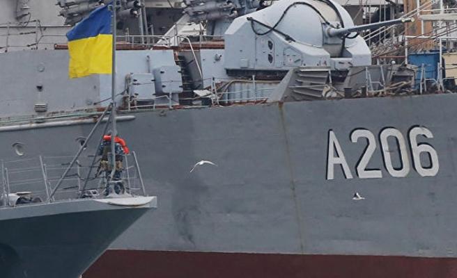 İngiliz keşif gemisi Ukrayna'da