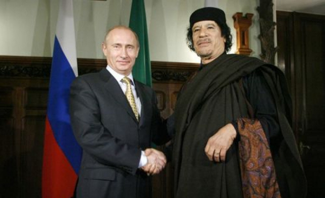 Kaddafi'nin oğlu Putin'den destek istedi