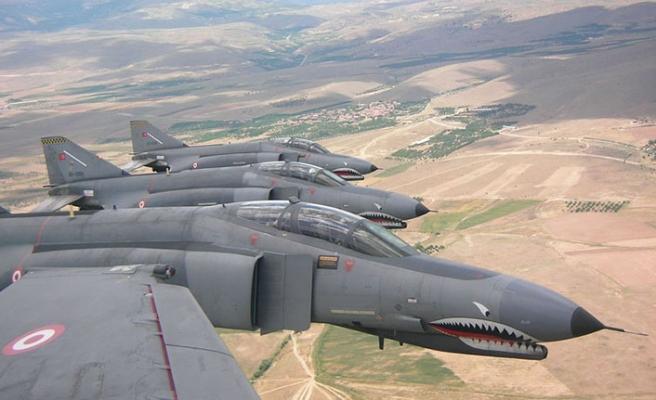 Kuzey Irak'a hava harekatı: 4 ölü
