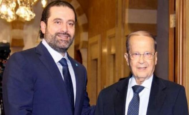 Londra'ya giden Hariri döndüğünde hükümet kurulsun istiyor