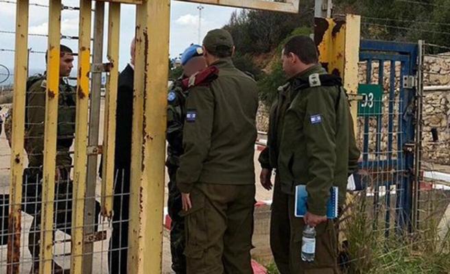 Netanyahu Lübnan sınırında brifing verdi