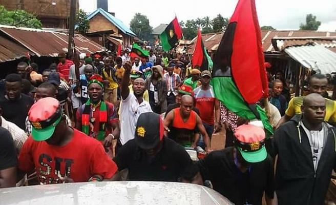 Nijerya'da protestocu ayrılıkçılar gözaltına alındı