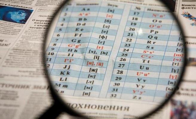 Orta Asya devletlerinde alfabe kargaşası