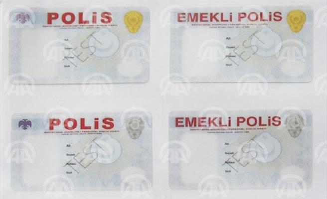 Polis kimlik kartlarına yeni düzenleme