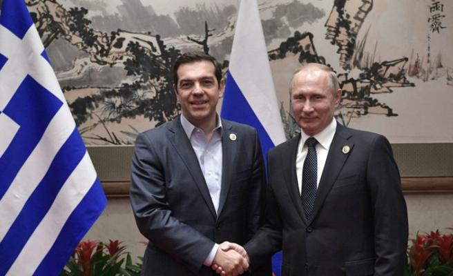Putin ve Çipras Moskova'da biraraya geliyor