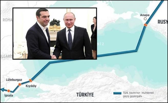 Putin'den Türk Akımı açıklaması: Yunanistan'a yeşil ışık