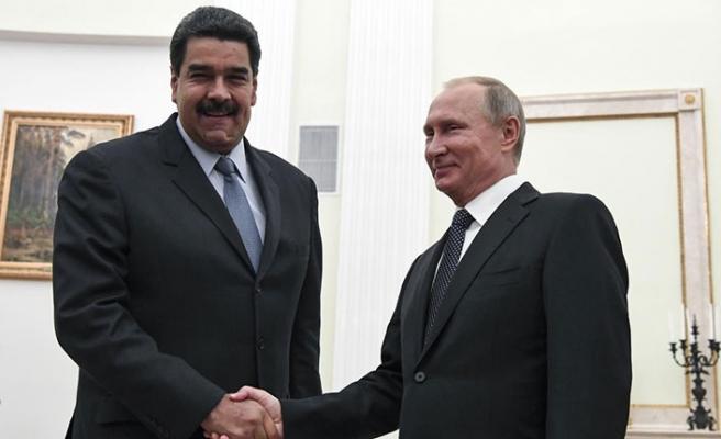 Putin'den Venezuela yorumu