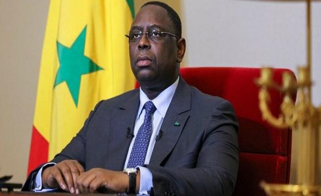 Senegal Cumhurbaşkanı Sall'den güç gösterisi
