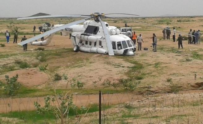 Sudan'da helikopter kazası