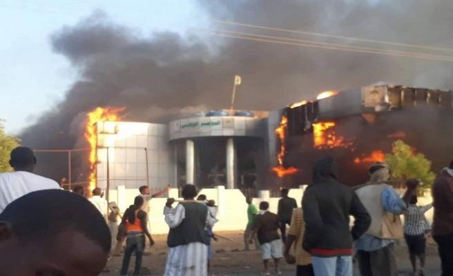 Sudan'ın Atbara kentinde gösteriler nedeniyle OHAL ilan edildi