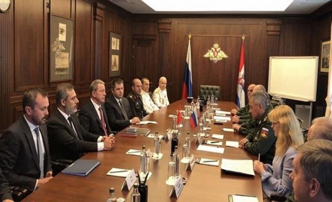Suriye görüşmeleri için Rusya'ya giden heyetten ilk açıklama