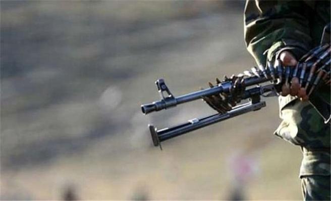 Tel Rıfat'tan ateş açıldı, Afrin'de bir asker şehit