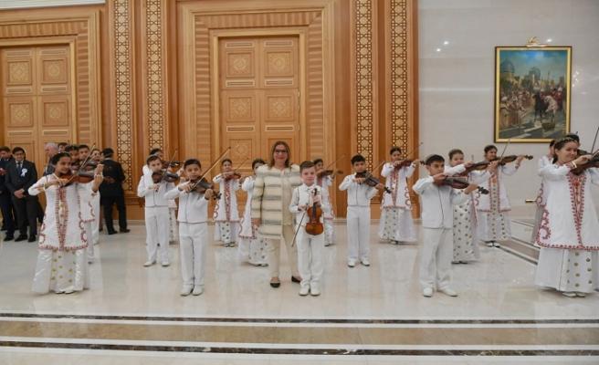Ticaret Bakanı Ruhsar Pekcan Türkmenistan'da