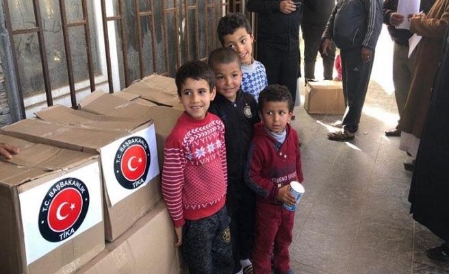 TİKA'dan Libyalı ailelere yardım
