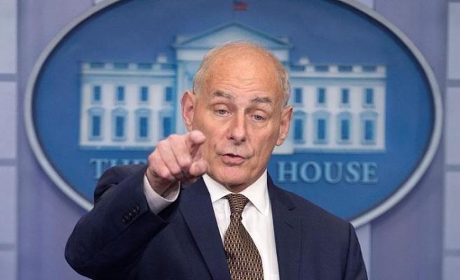 Trump'ın Özel Kalem Müdürü Kelly yıl sonunda görevinden ayrılacak