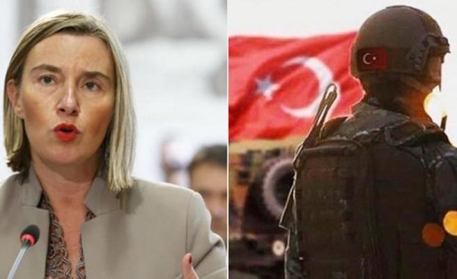 AB, Türkiye'nin harekat hazırlığından rahatsız oldu!