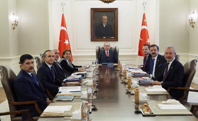 Türkiye Varlık Fonu Yönetim Kurulu Çankaya'da