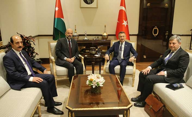 Ürdün Başbakanı Ankara'da