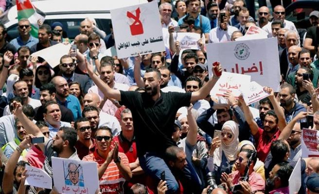 Ürdün'de hükümet karşıtı gösteri