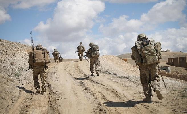 ABD askerlerine Bağdat'ta tepki