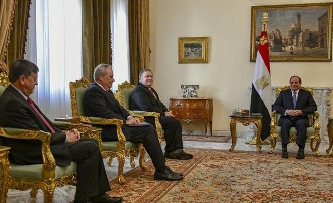 ABD Dışişleri Bakanı Pompeo, Mısır'da