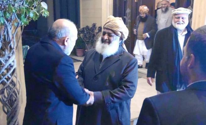 Afgan diplomat Pakistanlı Fazlurrahman'dan barışa destek  istedi
