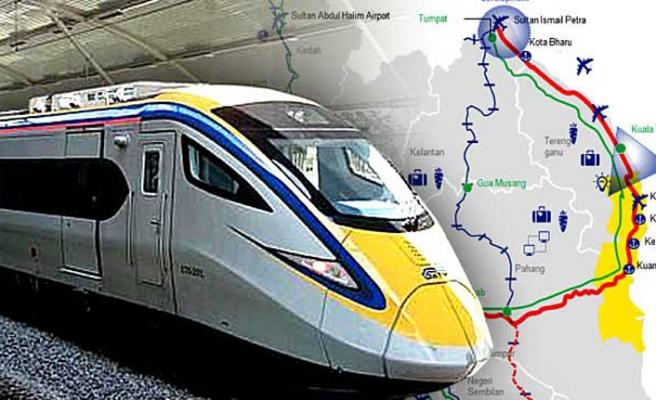 Çinli firmadan Malezya'daki demir yolunun maliyetini yarıya indirme teklifi