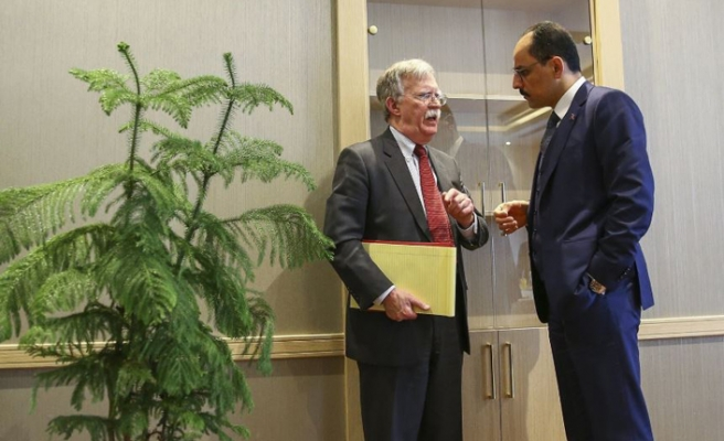 Erdoğan'la görüşemeyen Bolton, Ankara'dan ayrıldı