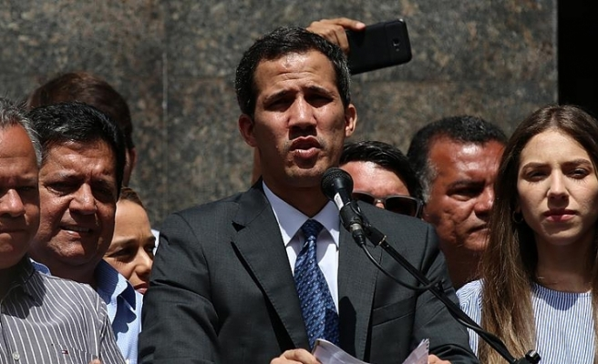 Guaido'ya karşı ihtiyati tedbir talebi