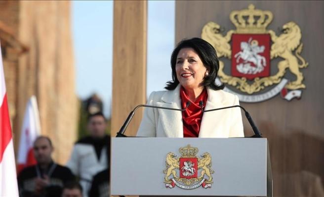 Gürcistan Cumhurbaşkanı maaşını bağışlayacak