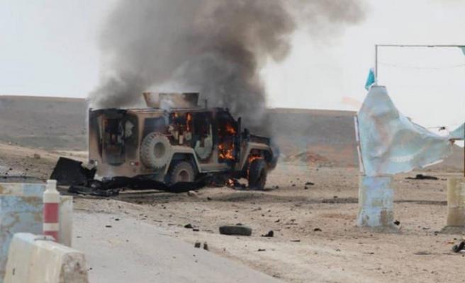 Haseke'de devriye yapan konvoya saldırı, 7 ölü