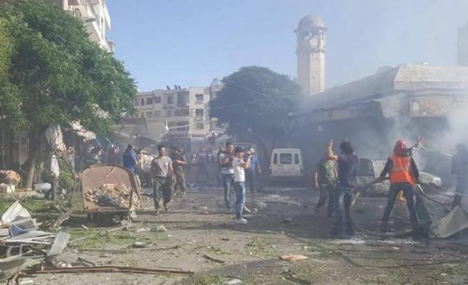 İdlib'te bombalı saldırı