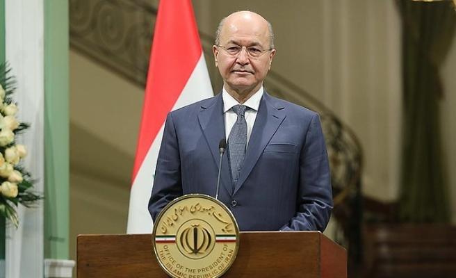 Irak Cumhurbaşkanı Salih, Erdoğan ile önemli konuları konuşacak