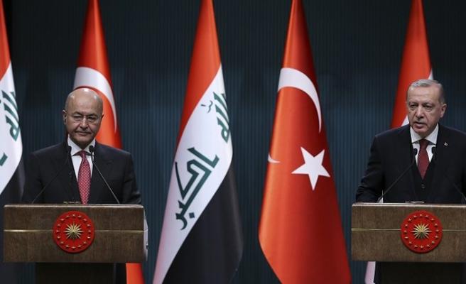 Irak ve Türkiye'den ortak dayanışma mesajı