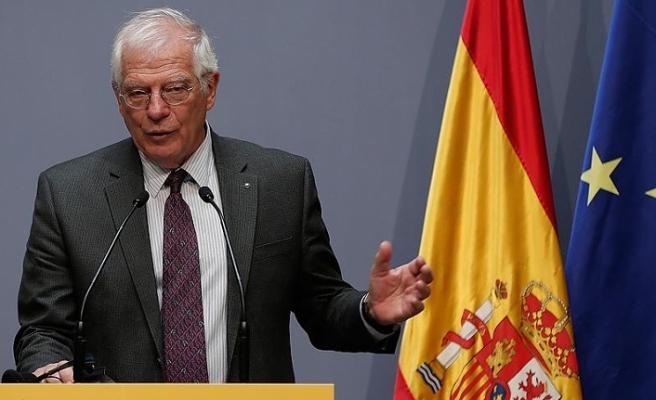 Borrell: İspanya ve AB Venezuela'ya askeri müdahaleye karşı