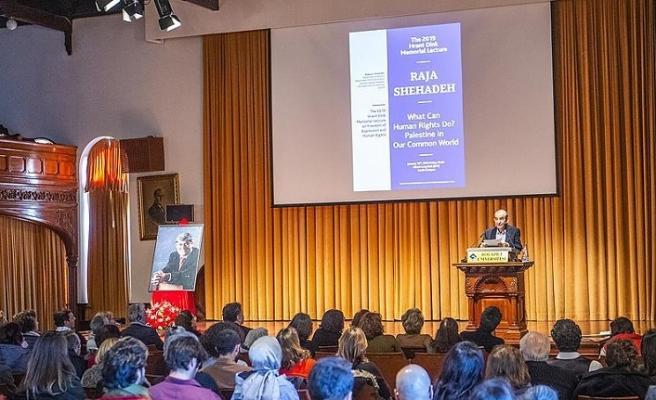 Filistinli yazar Hrant Din konferansında ifade özgürlüğünü anlattı