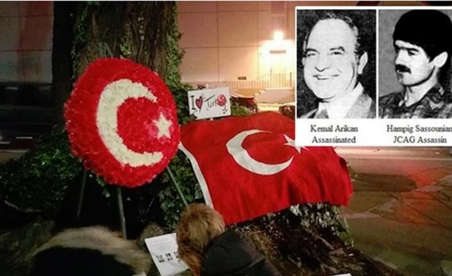 JCAG tarafından katledilen Başkonsolos Kemal Arıkan için taziye