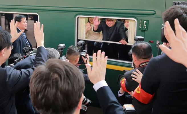 Kim Jong-un'un yeşil treni Pekin'den ayrıldı