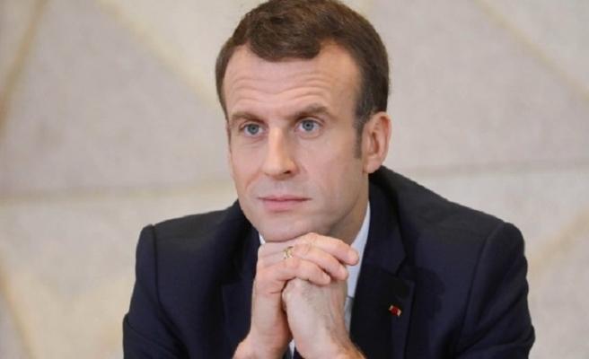 Macron'dan halkına mektup var