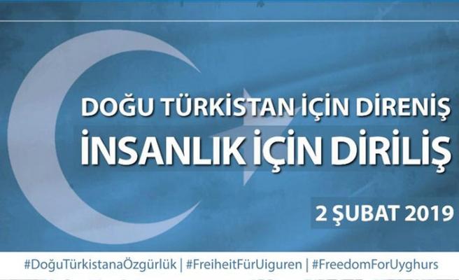 Milli Görüş teşkilatlarından Uygur Türkleri için çağrı