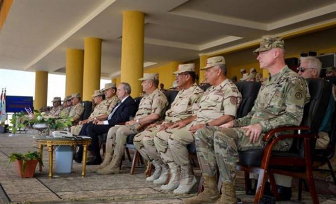 Mısır ve Kuveyt'ten ortak askeri tatbikat
