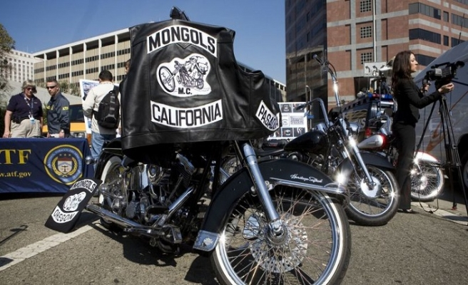 Motorcu Moğollara amblemleri yasaklandı
