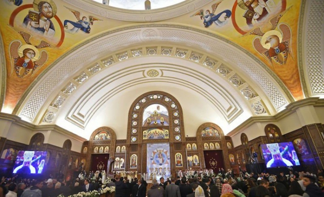 Orta Doğu'nun en büyük katedrali Mısır'da açıldı, Trump memnun