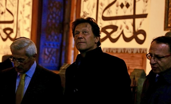Pakistan Başbakanı İmran Han Konya'da