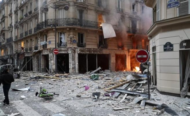 Paris'te gaz patlaması, 4 ölü