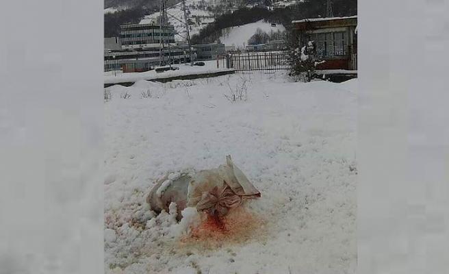 Srebrenitsa'daki Potoçari Anıt Mezarlığı'na çirkin saldırı