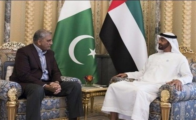 Veliaht Prensi Nahyan'dan Pakistan çıkarması
